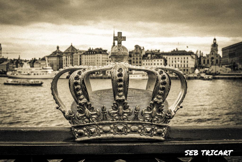 Couronne emblématique de la famille royale de Suède