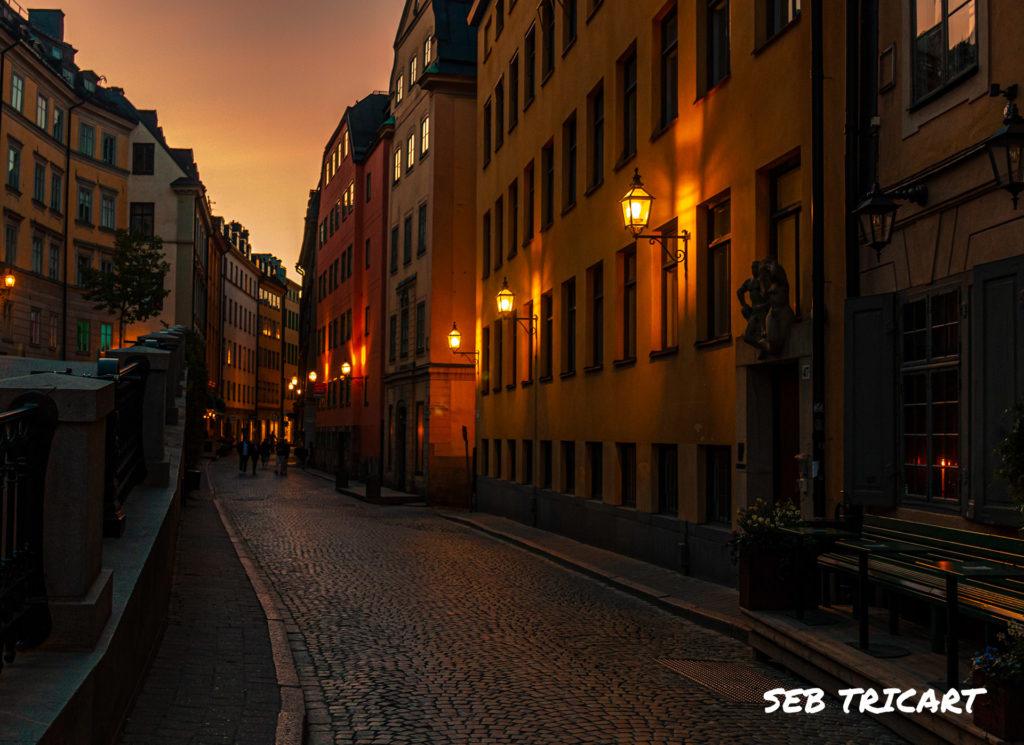 Rue du vieux Stockholm, Suède